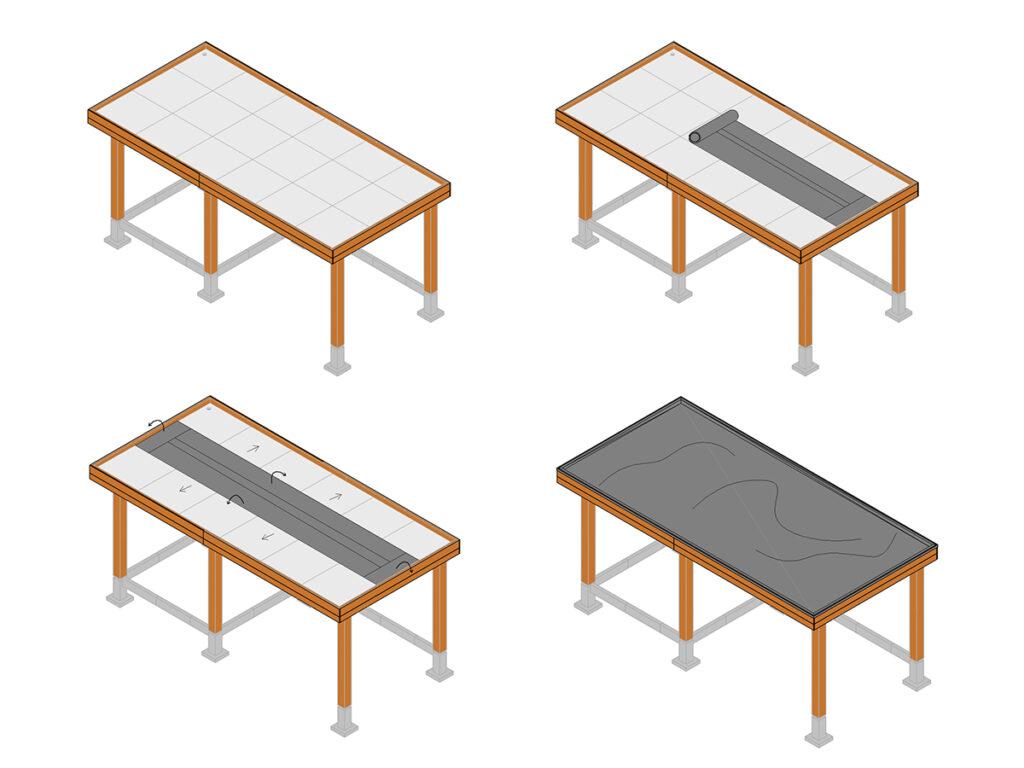 Stappenplan: EPDM dakbedekking aanbrengen