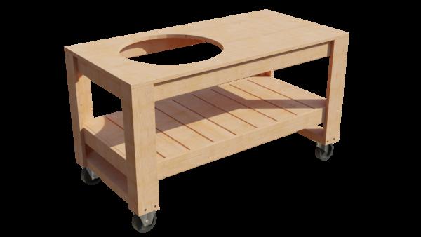 BBQ tafel Woody voorbeeld