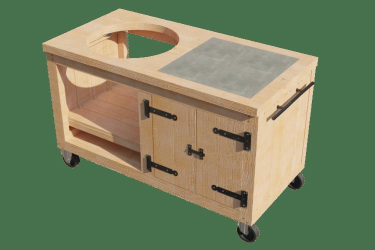 Zelf maken: BBQ tafel