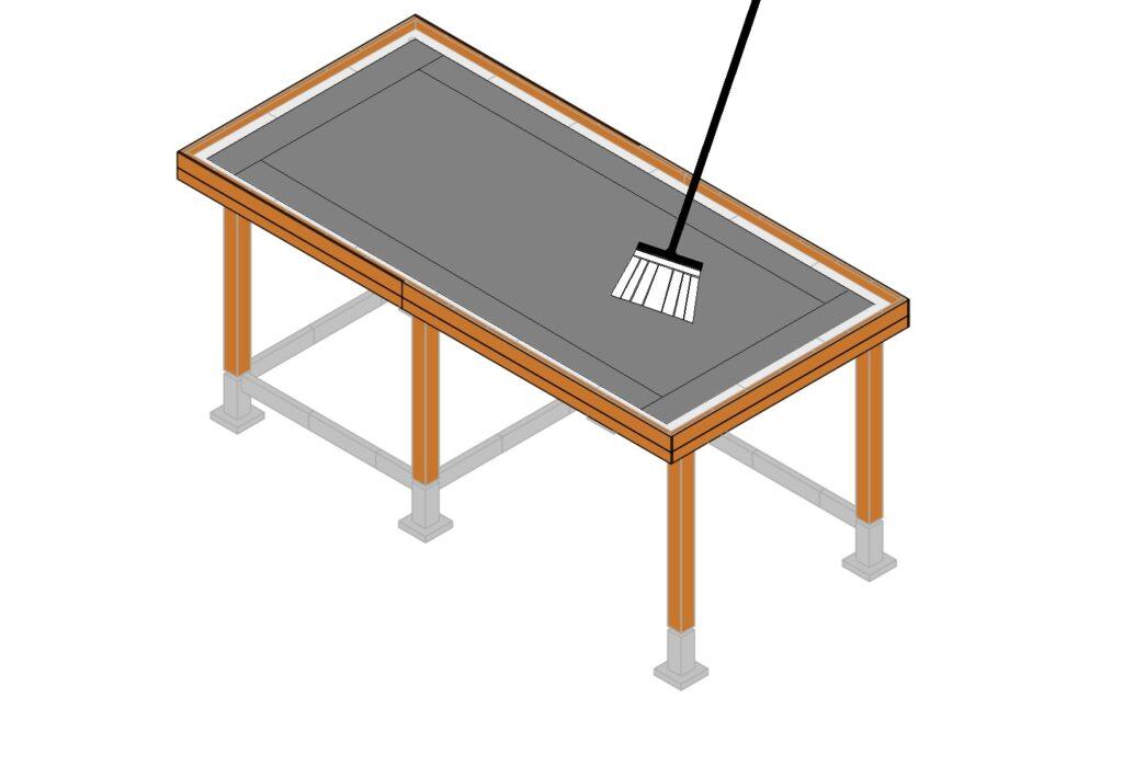 EPDM dakbedekking aanbrengen stap 10