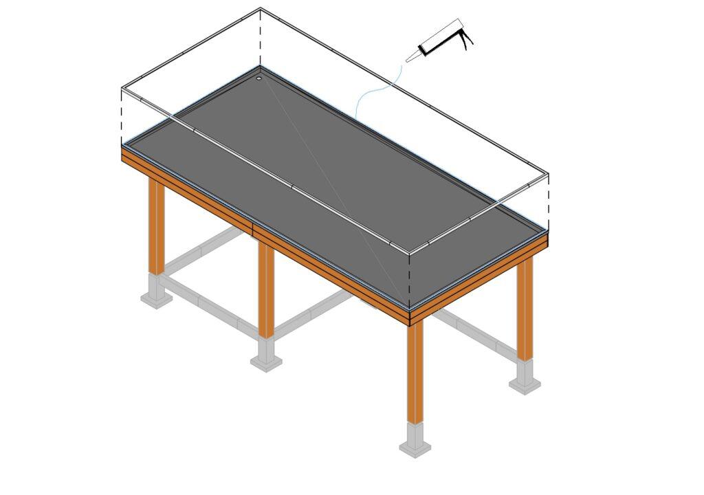 EPDM dakbedekking aanbrengen stap 13