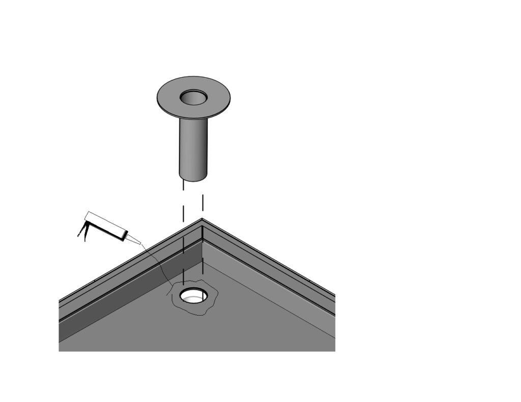 EPDM dakbedekking aanbrengen stap 14