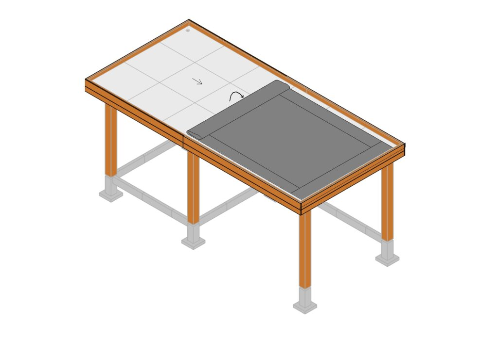 EPDM dakbedekking aanbrengen stap 6