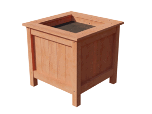 Plantenbak van hardhout zelf maken