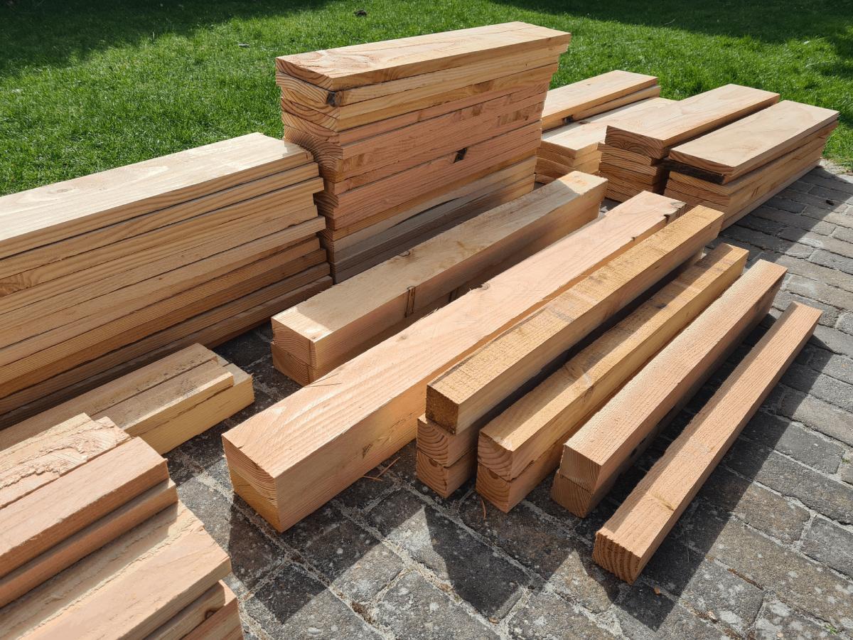 Zelf bouwen met hout - op maat gemaakt hout