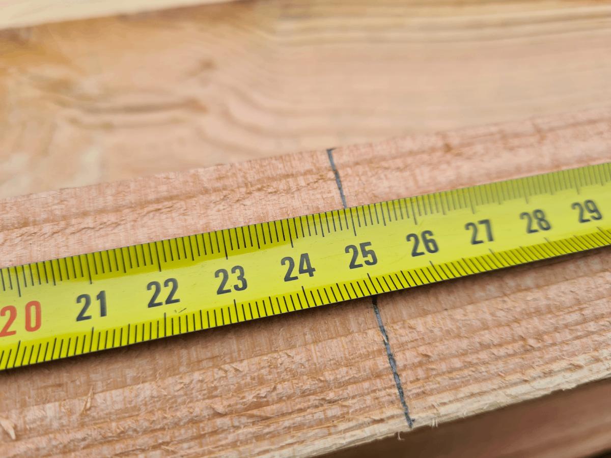 Zelf bouwen met hout - hout afmeten